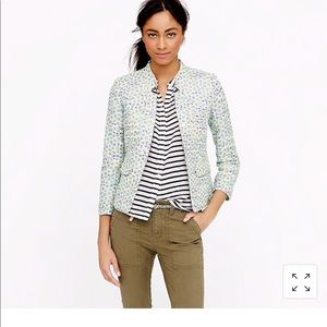 NWT J.crew  collection tweed jacket